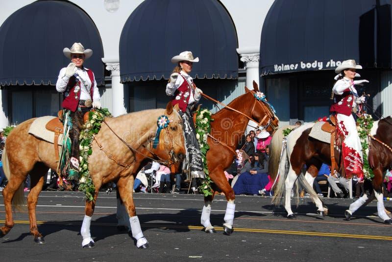 2011 parada Pasadena wzrastał zdjęcie stock