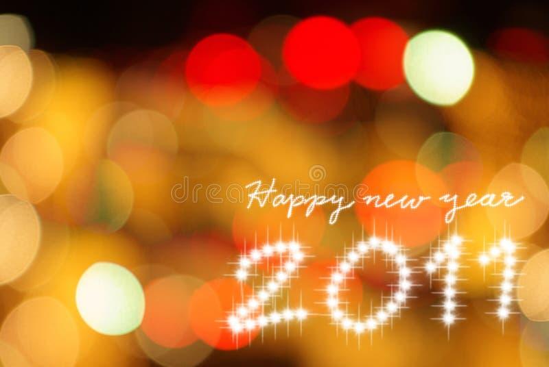 2011 szczęśliwy tło nowy rok zdjęcie stock