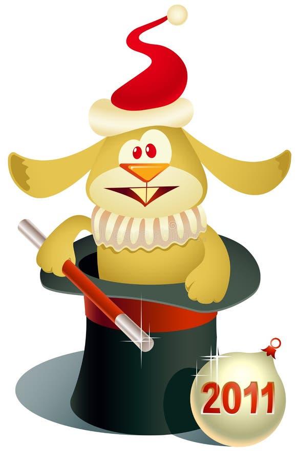 2011 tajemnica królik ilustracji
