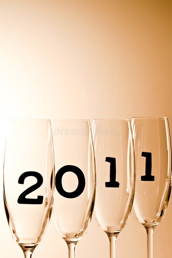 Download 2011 V8 champagne glasses stock image. Image of beginning - 16783859