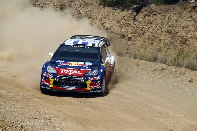 2011 WRC Sammlung-Akropolis - Citroen DS3 lizenzfreie stockfotos