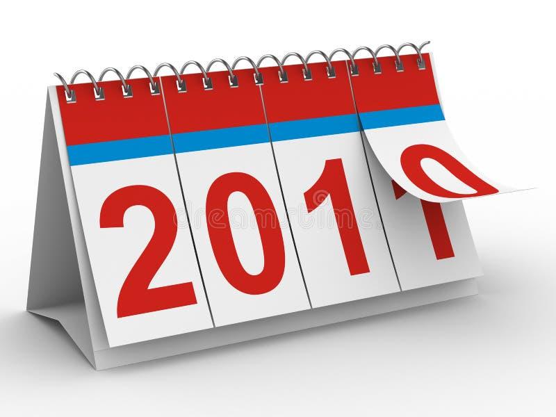 Download 2011 Year Calendar On White Backgroung Stock Illustration - Illustration: 15914904