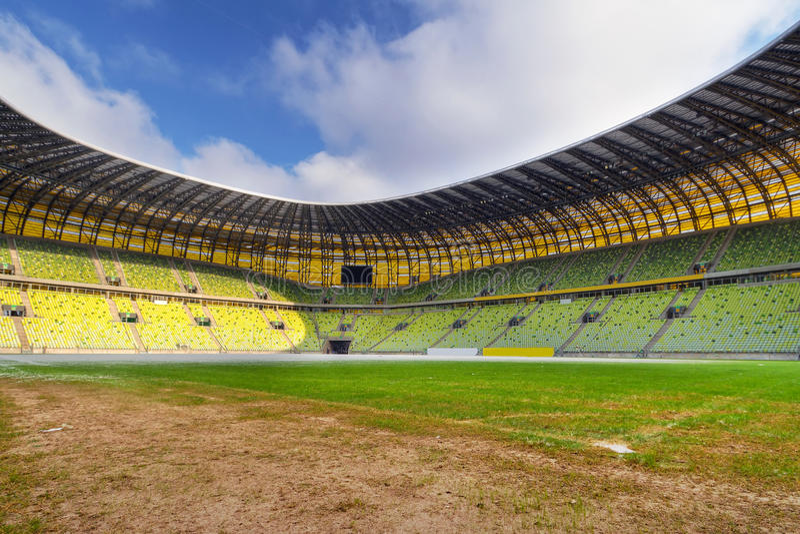 2012个杯子欧洲格但斯克体育场 库存图片