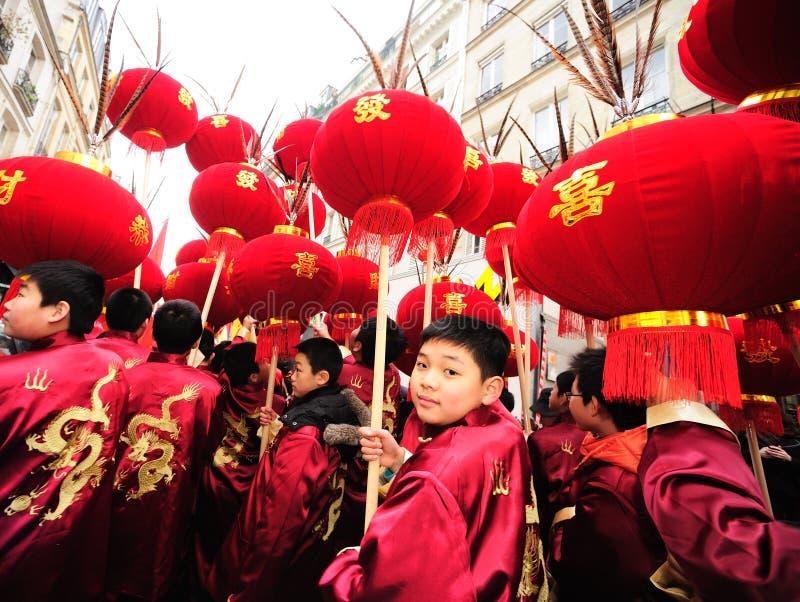 2012中国新的巴黎年 图库摄影