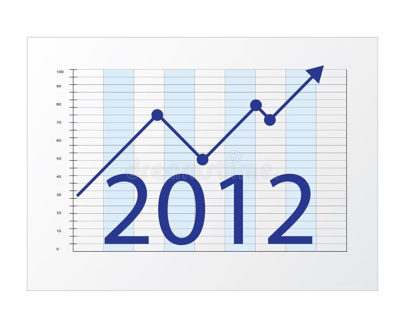 2012年企业绘制 向量例证