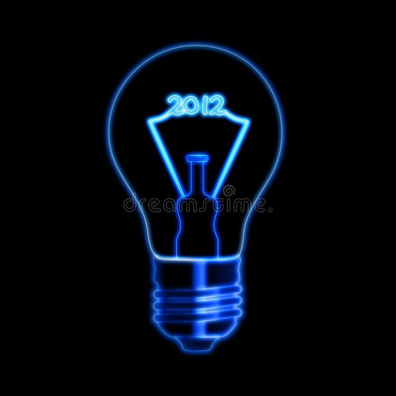 2012年电灯泡 库存照片