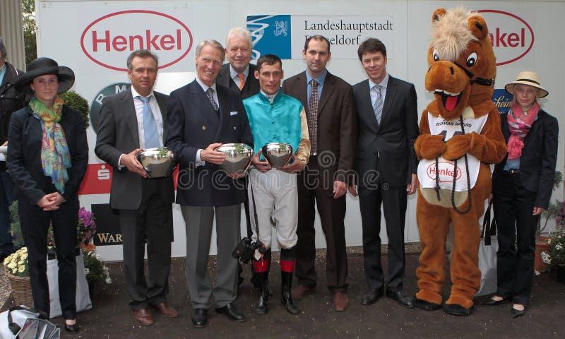 2012年henkel stutenpreis 免版税图库摄影