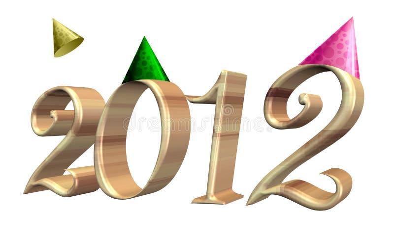 Download 2012 απομονωμένο λευκό κειμένων Διανυσματική απεικόνιση - εικονογραφία από παραδοσιακός, μοντέρνος: 22797925
