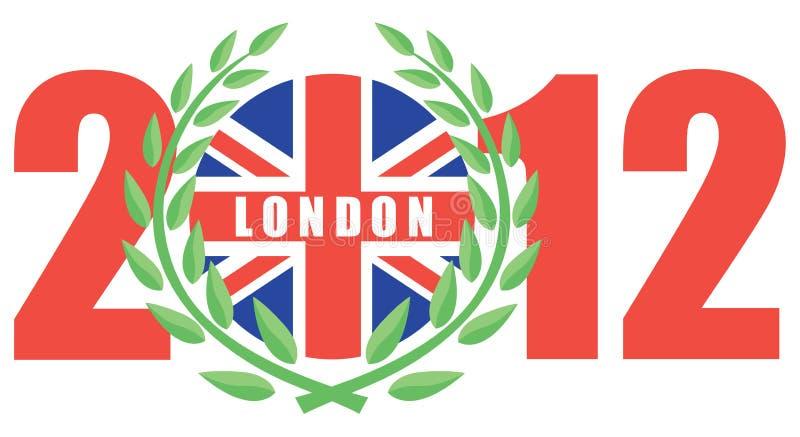 2012 игры london олимпийский иллюстрация вектора
