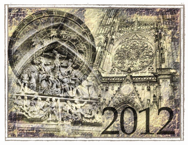 2012 предсказывает иллюстрация штока