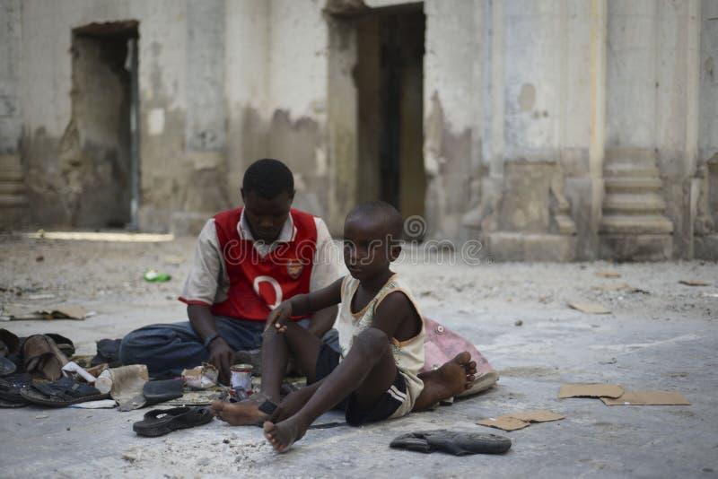 2012_11_18_AMISOM_Mogadishu_Cathedral_F lizenzfreies stockbild