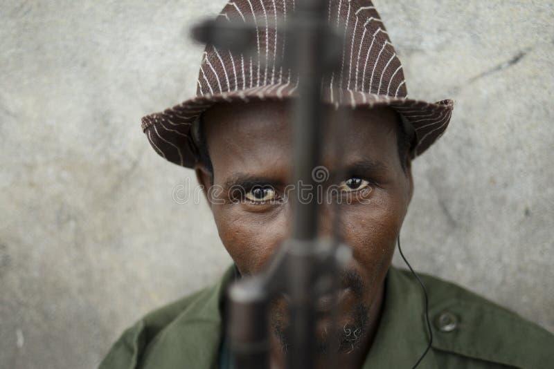 2012_11_30_AMISOM_Kismayo_Day3_E royalty-vrije stock foto