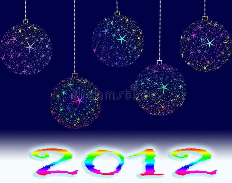 Download 2012年 库存例证. 插画 包括有 愉快, 庆祝, 1月, xmas, 星形, 编号, 十二, 竹子, 火焰 - 22351862