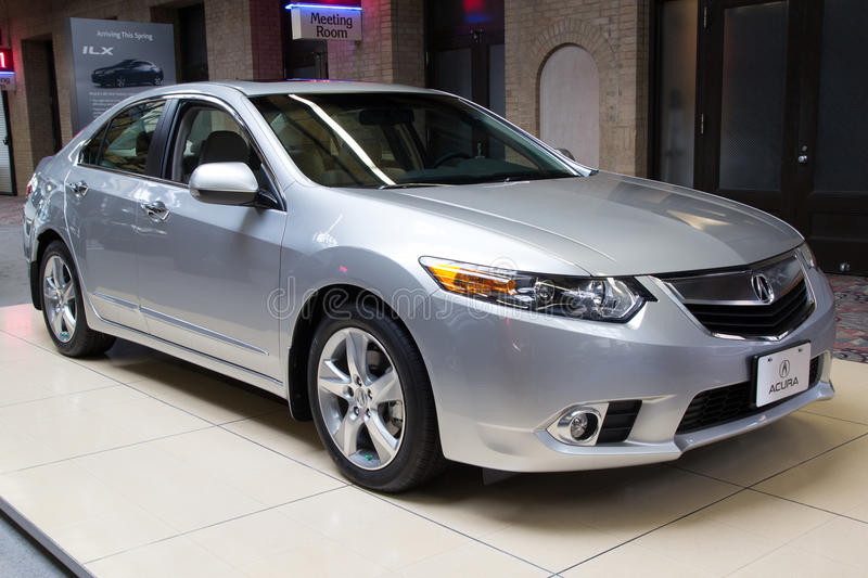 Download 2012 Acura TSX Tech editorial photo. Image of show, automobile - 24539516