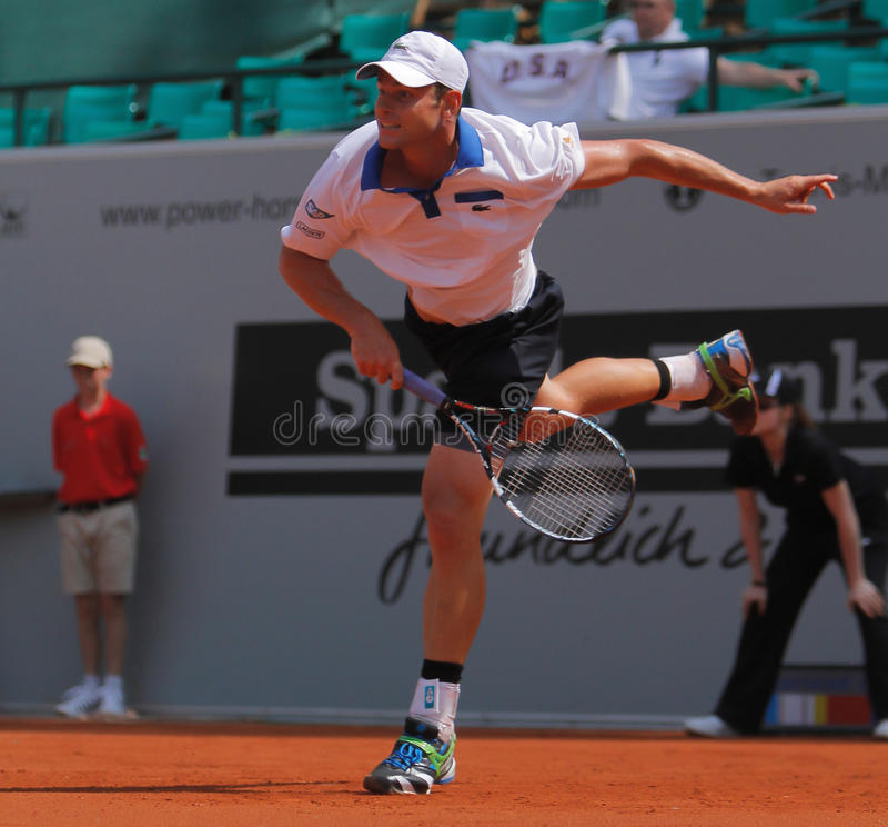 2012 Andy roddick tenis obraz royalty free