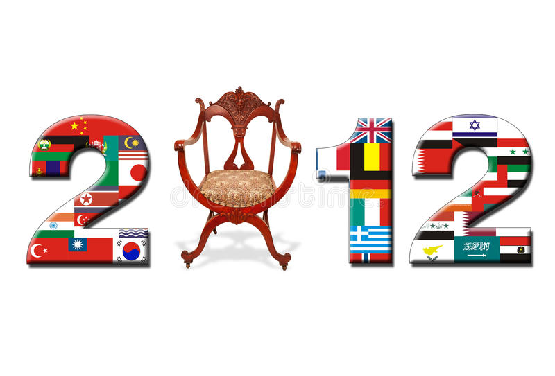 Download 2012 banner stock photo. Image of flag, 2012, date, year - 23313836