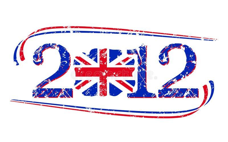 2012 British Flag Stock Images