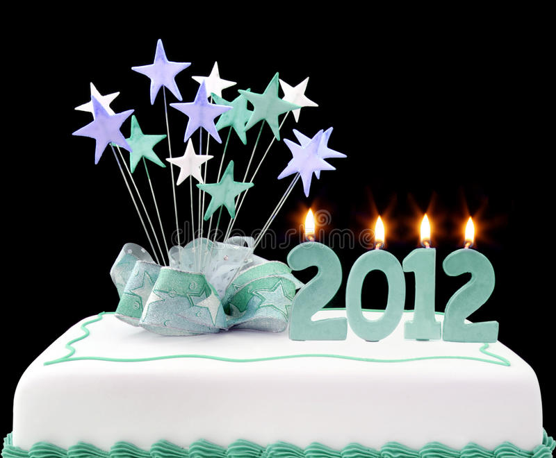 2012 Cake Royalty Free Stock Images