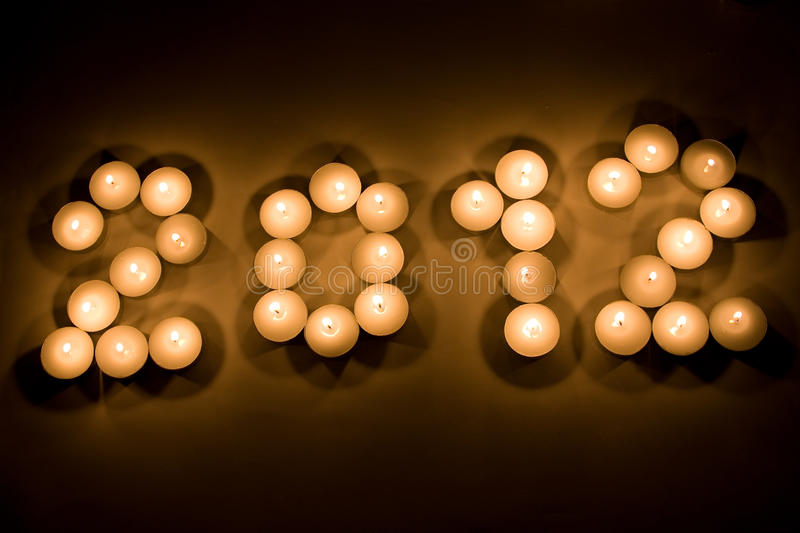 Download 2012 with candles stock image. Image of ceremony, party - 21915913