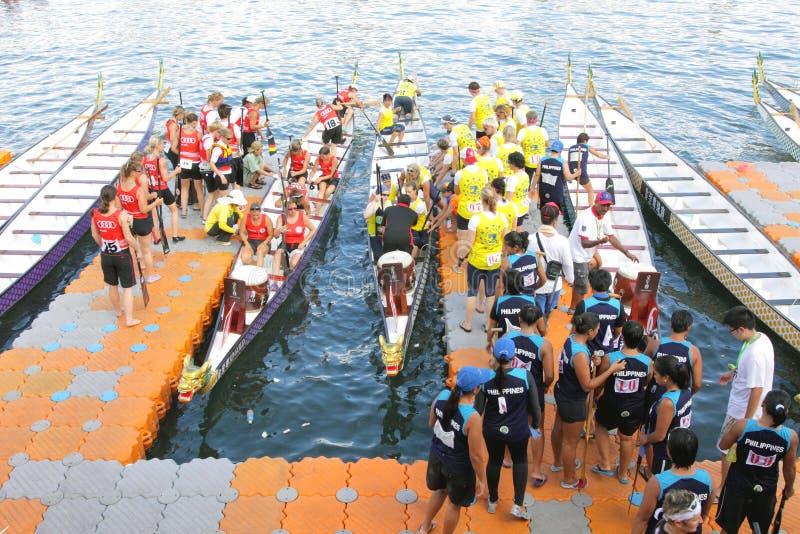 2012 championships club crew idbf world 库存照片