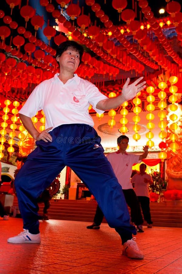 2012 chi chuan hou tai świątynia thean obrazy stock