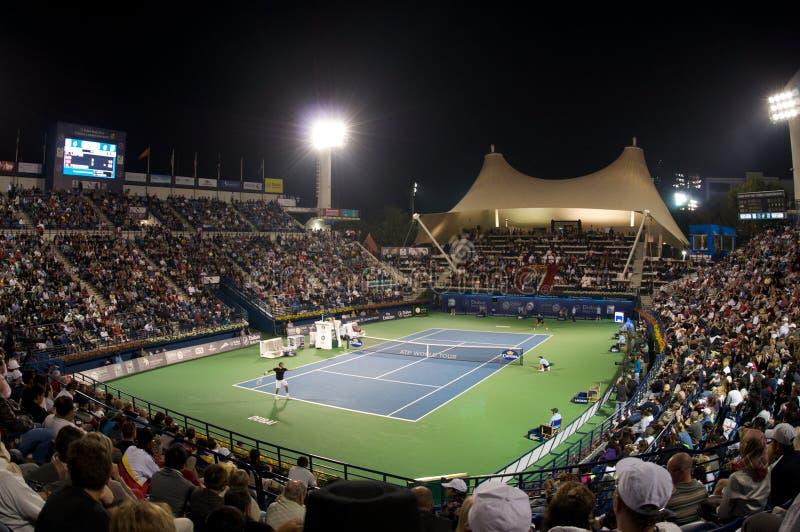 2012 Dubai tenisa turniej zdjęcie royalty free