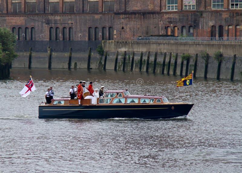 2012 Elizabeth ΙΙ βασίλισσα θεάματος βασιλική στοκ εικόνες