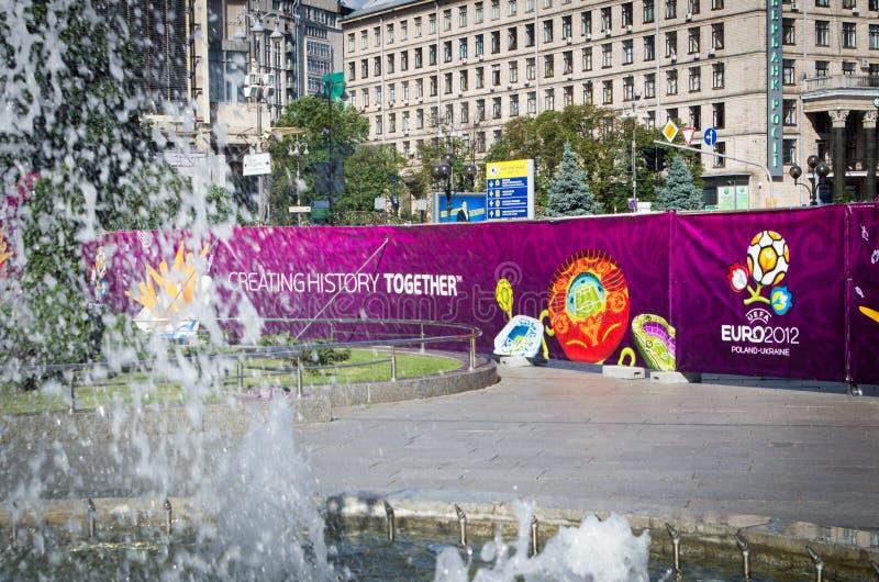2012 euro Kiev obrazy royalty free