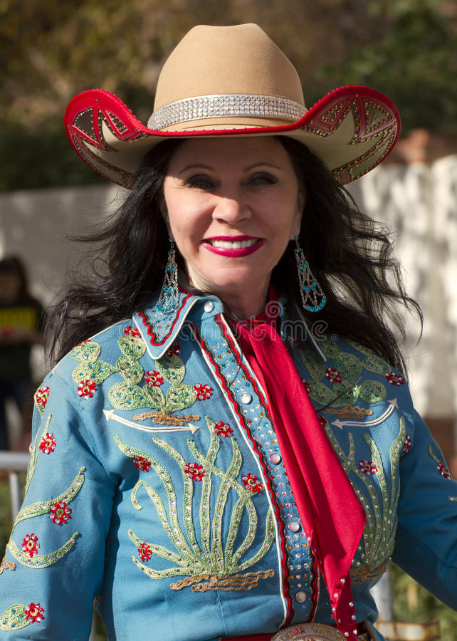Download 2012 Fiesta Bowl Parade Cowgirl Editorial Stock Image - Image: 28404309