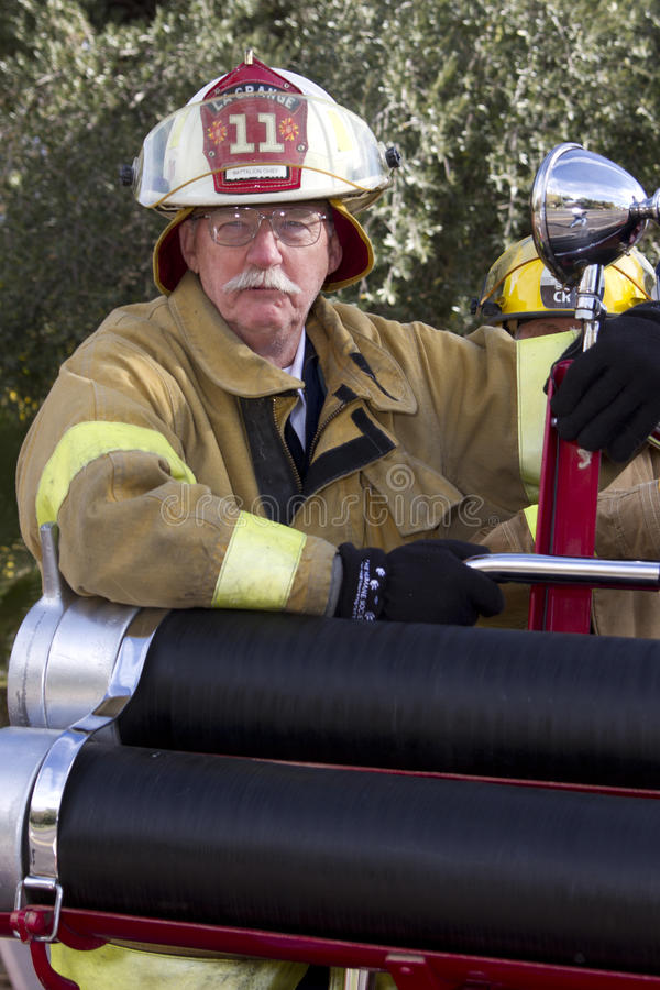 Download 2012 Fiesta Bowl Parade Fireman Fire Cheif Editorial Image - Image: 28404325