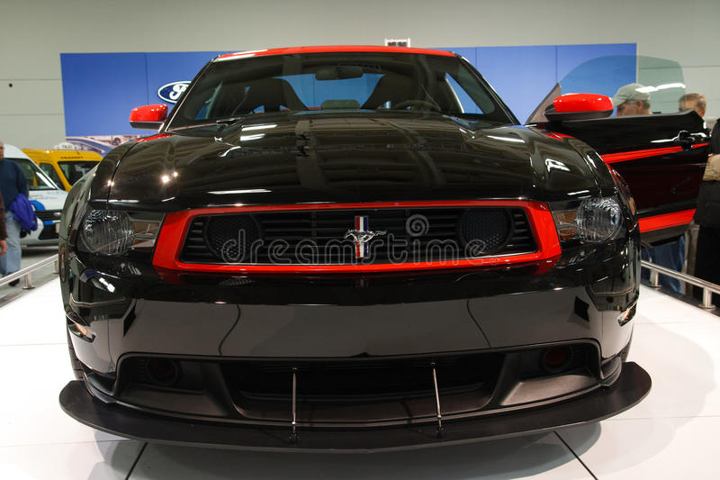 Download 2012 Ford Mustang Boss 302 editorial photo. Image of international - 22254981