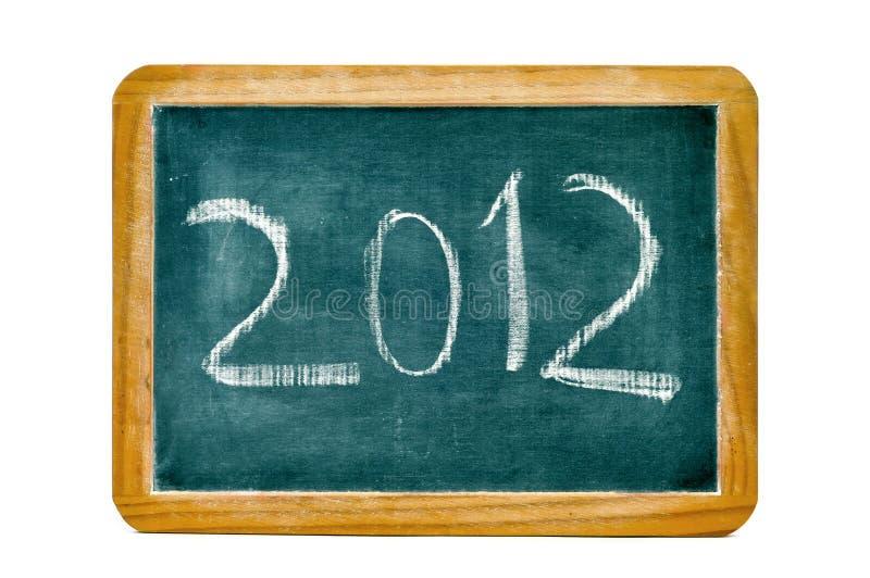 2012,happy new year stock photo