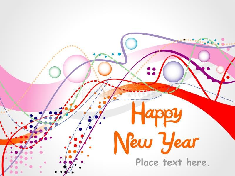 2012 Happy New year. Vector illustration stock illustration