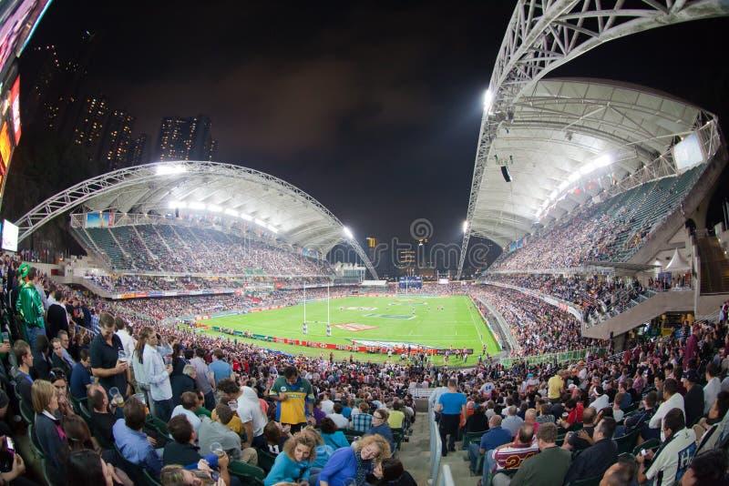 2012 Hong Kong Rugby Sevens Obraz Stock Editorial