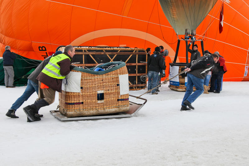 2012 Hot Air Balloon Festival, Switzerland