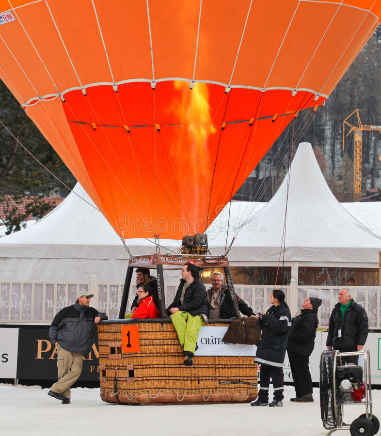 Download 2012 Hot Air Balloon Festival, Switzerland Editorial Stock Photo - Image of colorful, heat: 22981178