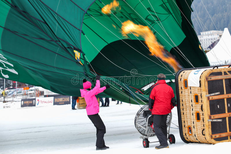Download 2012 Hot Air Balloon Festival, Switzerland Editorial Stock Photo - Image: 22981243