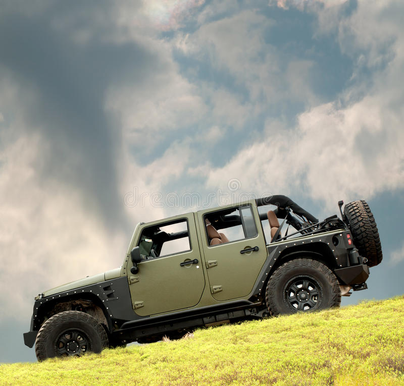Download 2012 jeep rubicon stock photo. Image of hill, adventure - 26018864
