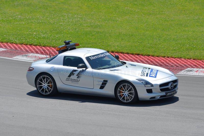 2012 kanadensiska grand prixsäkerhet för bil f1 royaltyfria foton