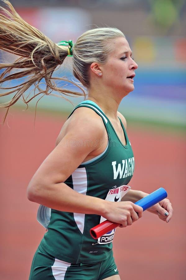 2012 Leichtathletik - Wagnerrunner lizenzfreies stockfoto