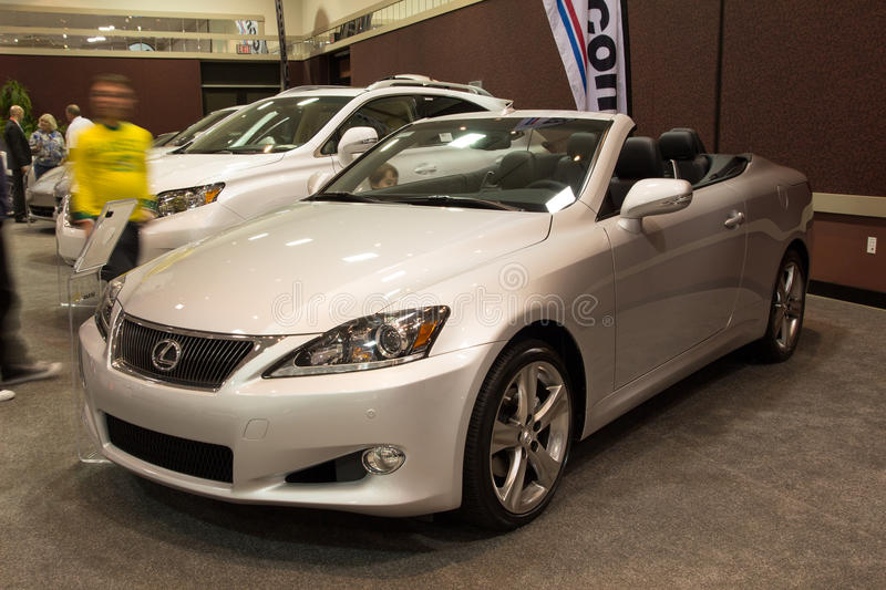 Download 2012 Lexus IS Convertible editorial photography. Image of 2012 - 24473467