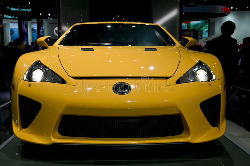 Download 2012 Lexus LFA At NAIAS Editorial Image - Image: 18471660