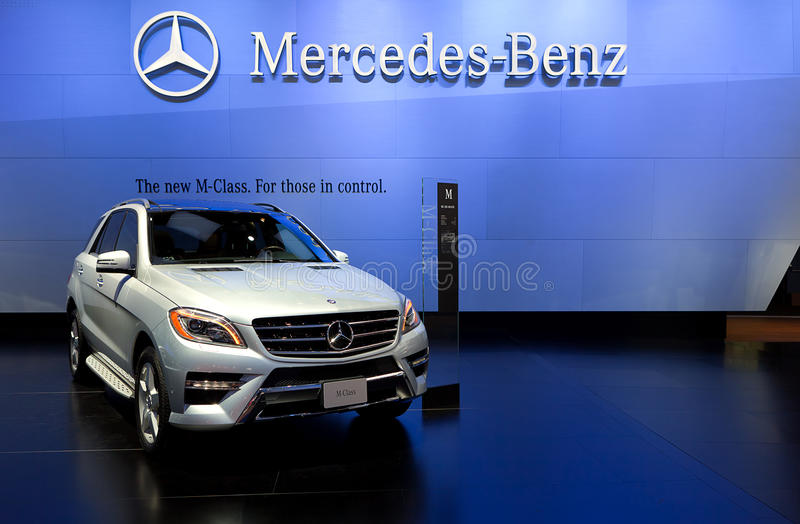 Download 2012 Mercedes ML550 4Matic editorial stock image. Image of performance - 22822354