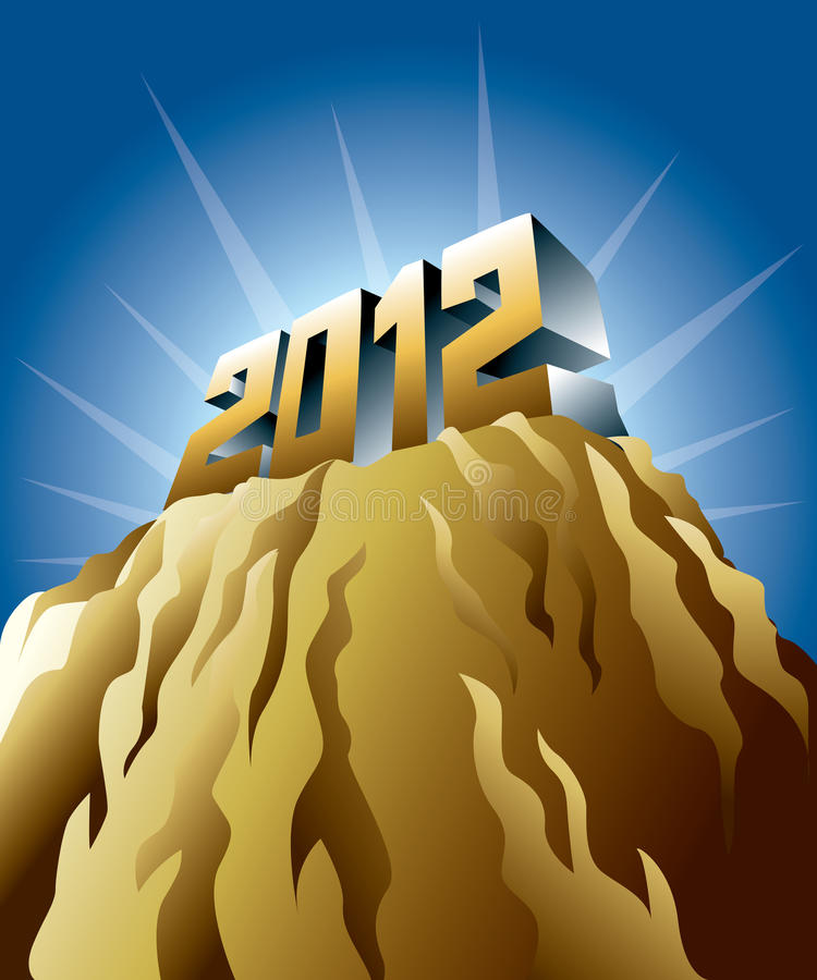 2012 New Year Royalty Free Stock Photo