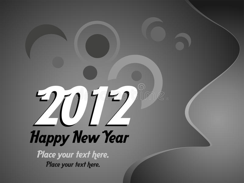 Download 2012 New Year stock vector. Image of card, sign, decor - 22260235