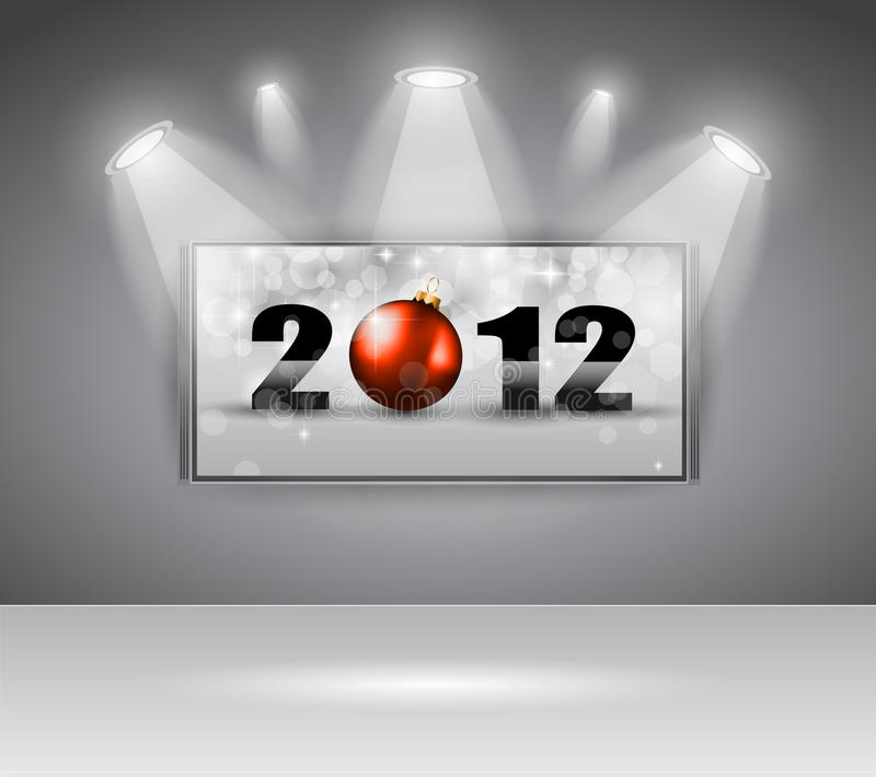 Download 2012 New Year Celebration Cinema Panel Stock Vector - Image: 20749547