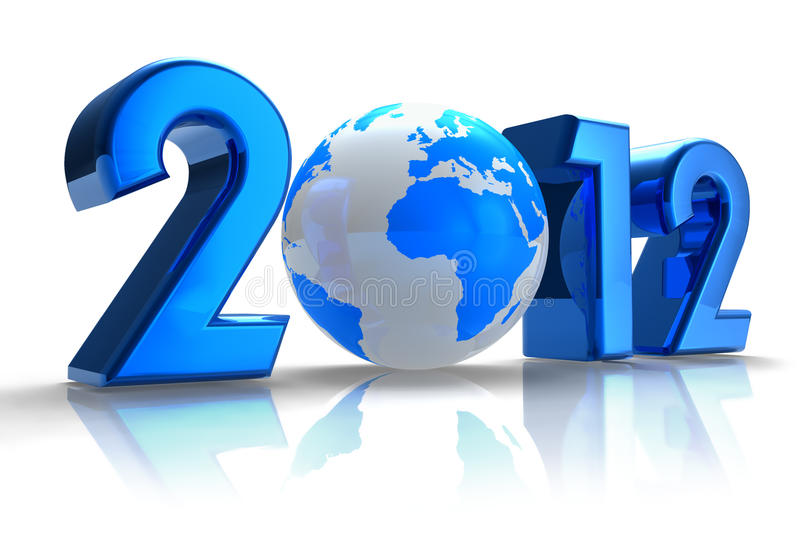 2012 New Year concept