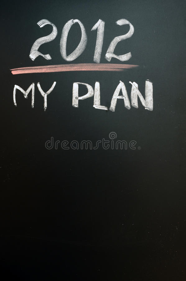 Download 2012 New year goals stock photo. Image of next, blackboard - 22562228