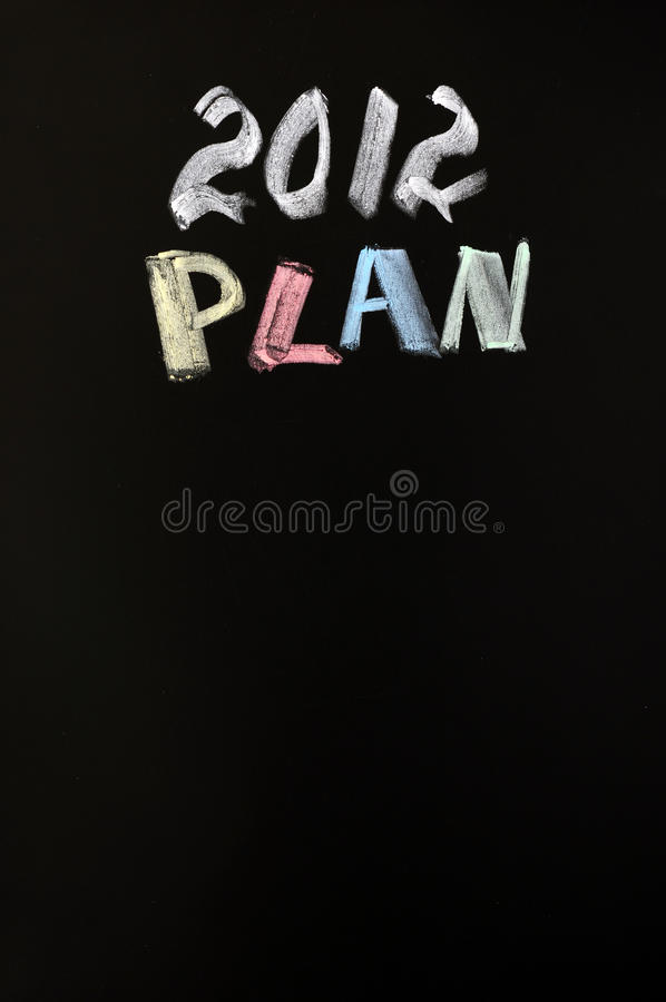 2012 New year Plan