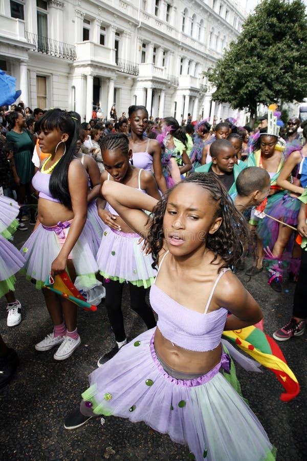 2012, Notting Heuvel Carnaval royalty-vrije stock foto